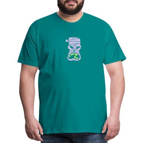 Angry Halloween Mummy - Men's Premium T-Shirt