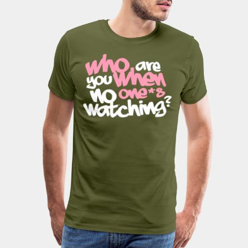 who are you identity personality - Men's Premium T-Shirt
