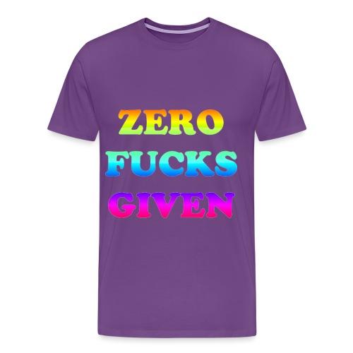 FUCKS png - Men's Premium T-Shirt