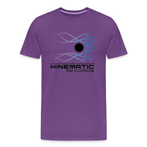 kinematic White logo - Men's Premium T-Shirt