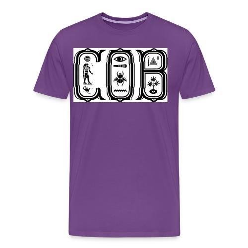 COB Official Logo - Men's Premium T-Shirt