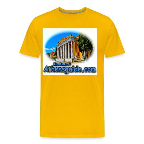 Athensguide Zappion jpg - Men's Premium T-Shirt