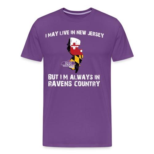 RavensCountryTee New Jersey 06 png - Men's Premium T-Shirt