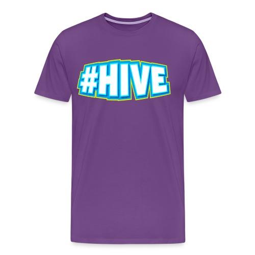 Hashtag Hive png - Men's Premium T-Shirt
