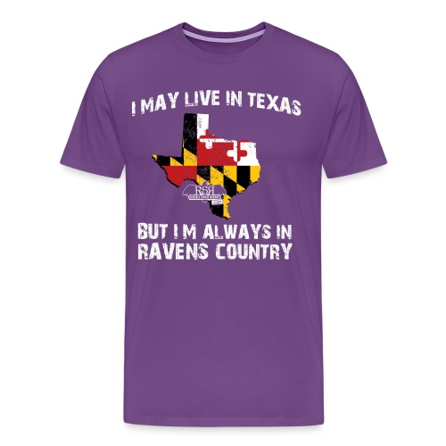 RavensCountryTee Texas 05 png - Men's Premium T-Shirt