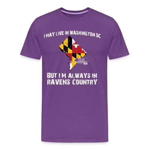 RavensCountryTee DC 08 png - Men's Premium T-Shirt