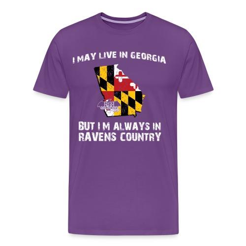 RavensCountryTee Georgia 08 png - Men's Premium T-Shirt