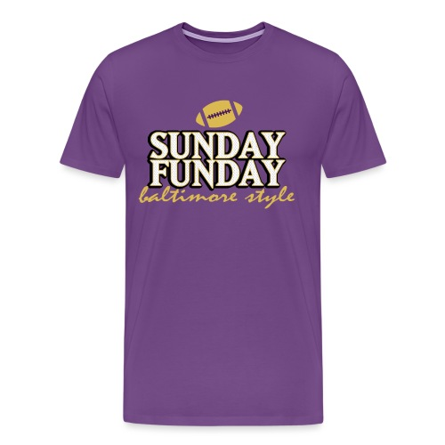 Sunday Funday Baltimore Style - Men's Premium T-Shirt