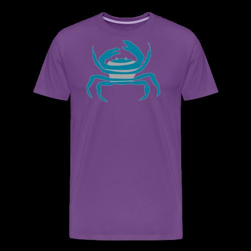 Crab Mascot - Men's Premium T-Shirt