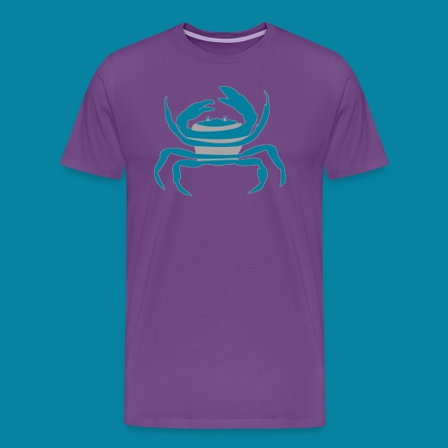 Crab Mascot - Men's Premium T-Shirt