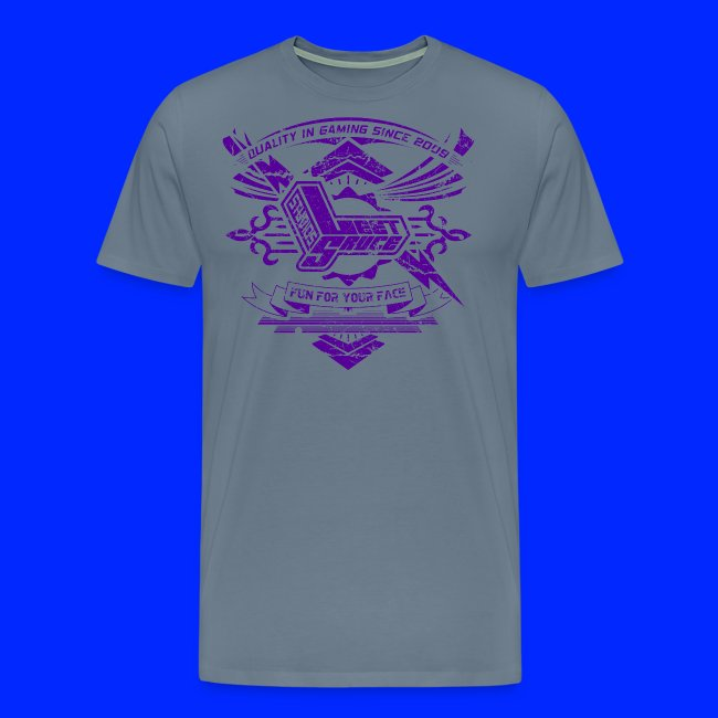 Vintage Leet Sauce Studios Crest Purple