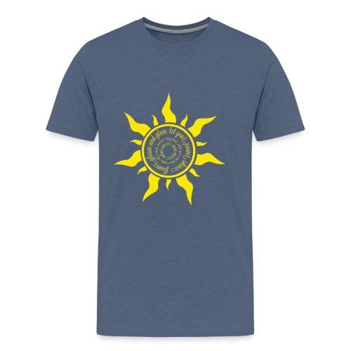 flowergleam - Men's Premium T-Shirt