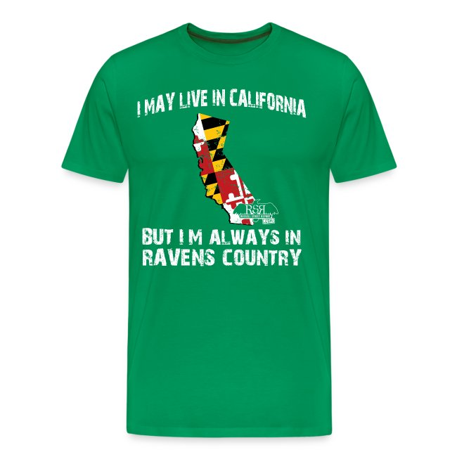 RavensCountryTee California 02 png