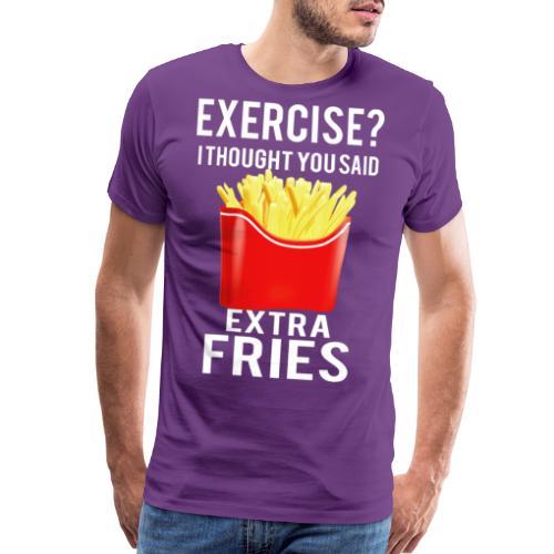 Exercise? - Men's Premium T-Shirt
