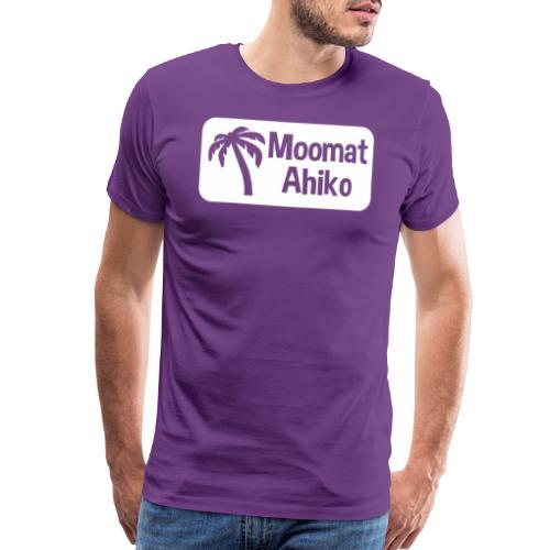 Moomat Ahiko retro white - Men's Premium T-Shirt