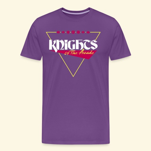 Knights 80s Logo - Men's Premium T-Shirt