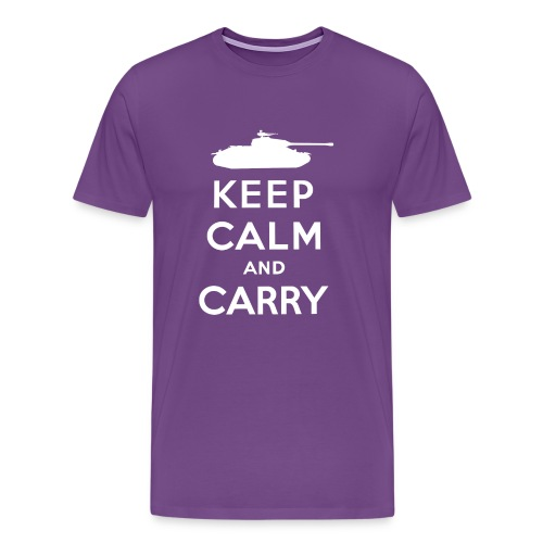 Keep Calm and Carry - Men's Premium T-Shirt