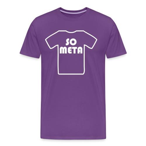Meta Shirt on a Shirt - Men's Premium T-Shirt