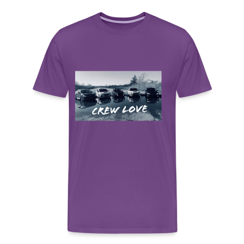 Crew Love w/ Logo - Men's Premium T-Shirt
