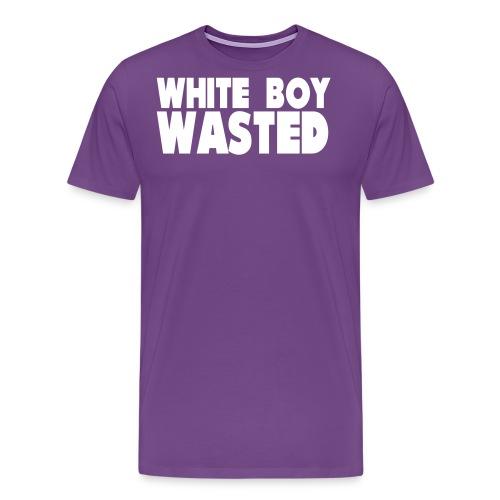 White Boy Wasted - Men's Premium T-Shirt