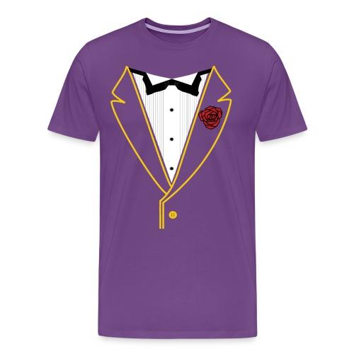 FUNK TUX - GOLD LINE - Men's Premium T-Shirt