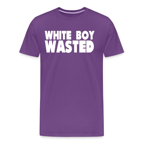 White Boy Wasted - Men's Premium T-Shirt