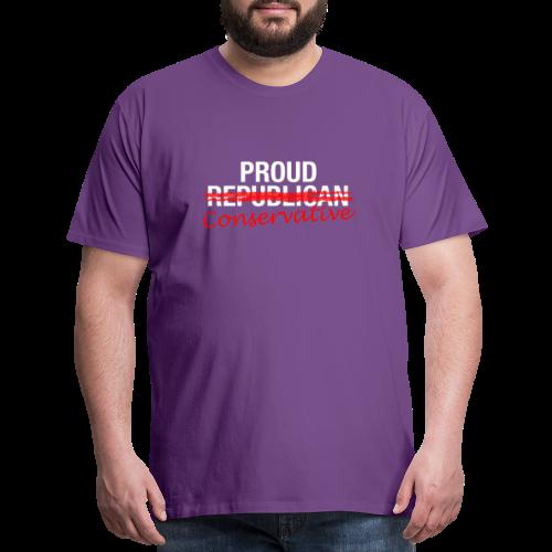 Proud Conservative - Men's Premium T-Shirt