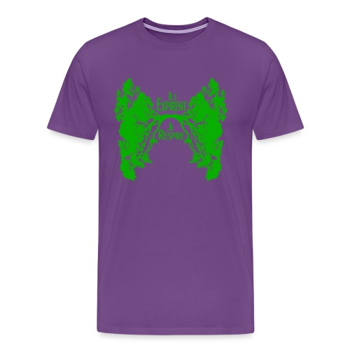 ExpireRespireVert - Men's Premium T-Shirt