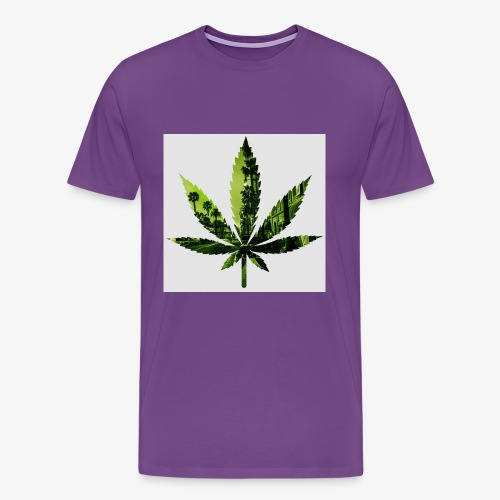 Hollywood Leaf2 - Men's Premium T-Shirt