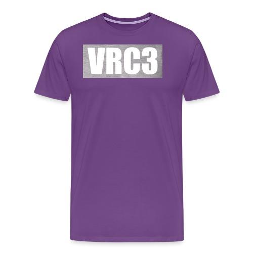 VRC3 in greywhite png - Men's Premium T-Shirt