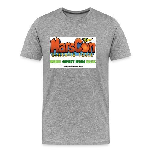 Marscon Dementia Logo - Men's Premium T-Shirt