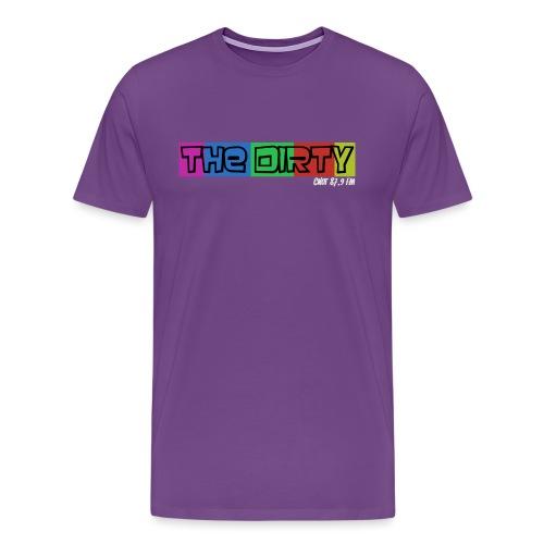 The Dirty FM transparent - Men's Premium T-Shirt