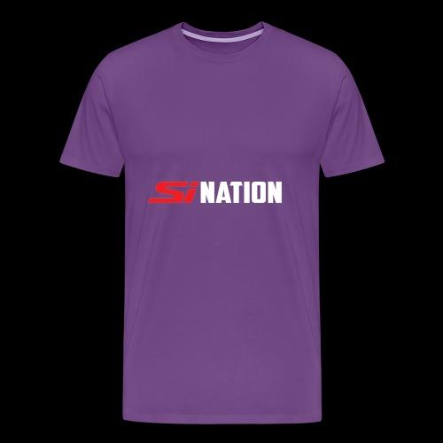 SiNation White - Men's Premium T-Shirt