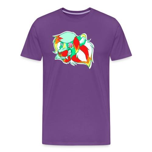 Psychedelic Lion - Men's Premium T-Shirt