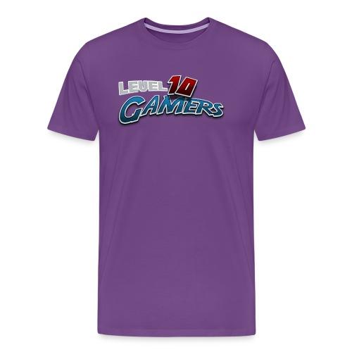 Level10Gamers Logo - Men's Premium T-Shirt