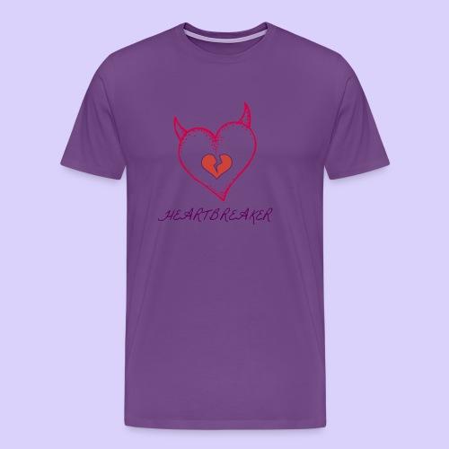 Heart Breaker - Men's Premium T-Shirt