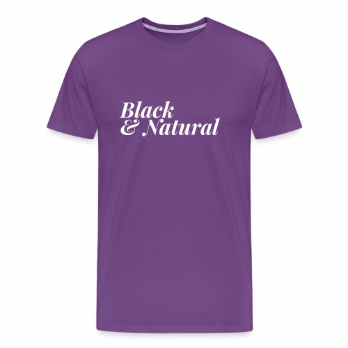 Black & Natural Women's Tee - Men's Premium T-Shirt