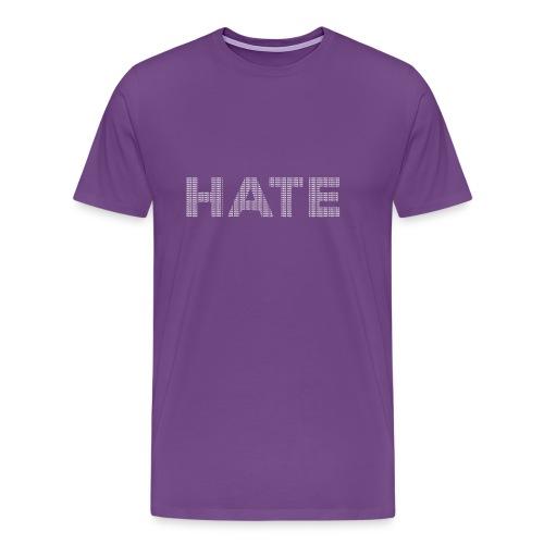 Hate v2 - Men's Premium T-Shirt
