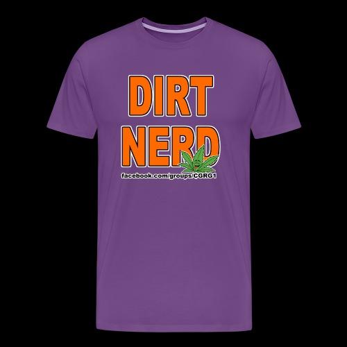 Dirt Nerd - Men's Premium T-Shirt