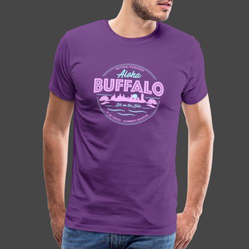 Aloha Buffalo - Men's Premium T-Shirt