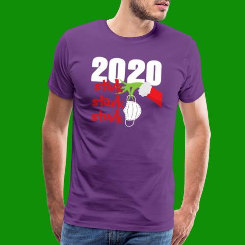 2020 Stink Stank Stunk Christmas - Men's Premium T-Shirt