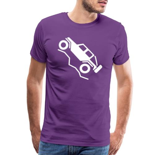 Offroad 4wd Rock Crawling Logo - Men's Premium T-Shirt