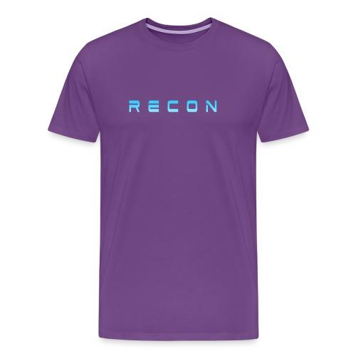 Rec0n Text - Men's Premium T-Shirt