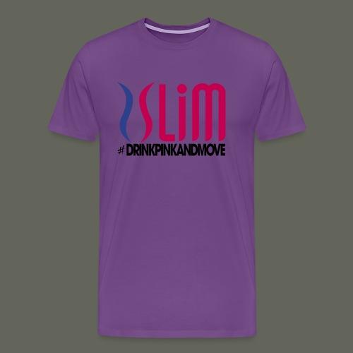 Plexus_Slim_shirt - Men's Premium T-Shirt