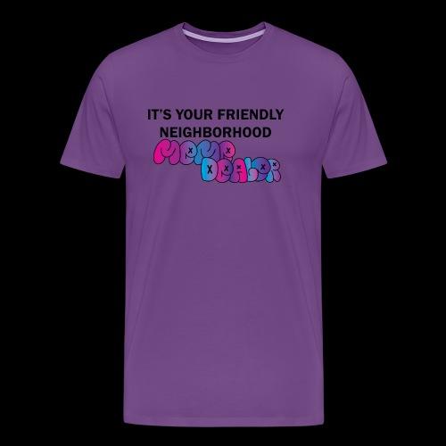 Neighborhood Meme Dealer - Men's Premium T-Shirt