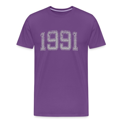 1991 Year Vintage - Men's Premium T-Shirt