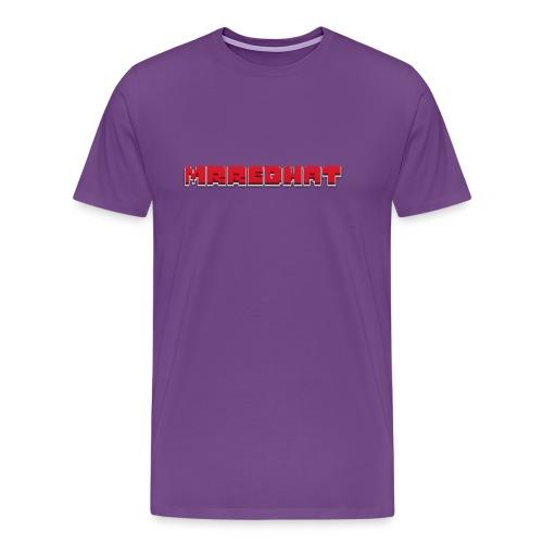 MrRedHat Plain Logo - Men's Premium T-Shirt