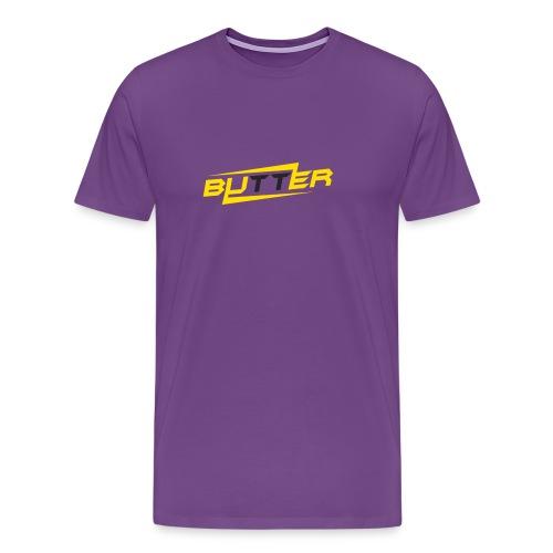 Butter Face Youtube Logo - Men's Premium T-Shirt