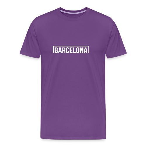 Goal Barcelona White - Men's Premium T-Shirt