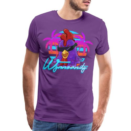 Palmed Out Wynnsanity - Men's Premium T-Shirt